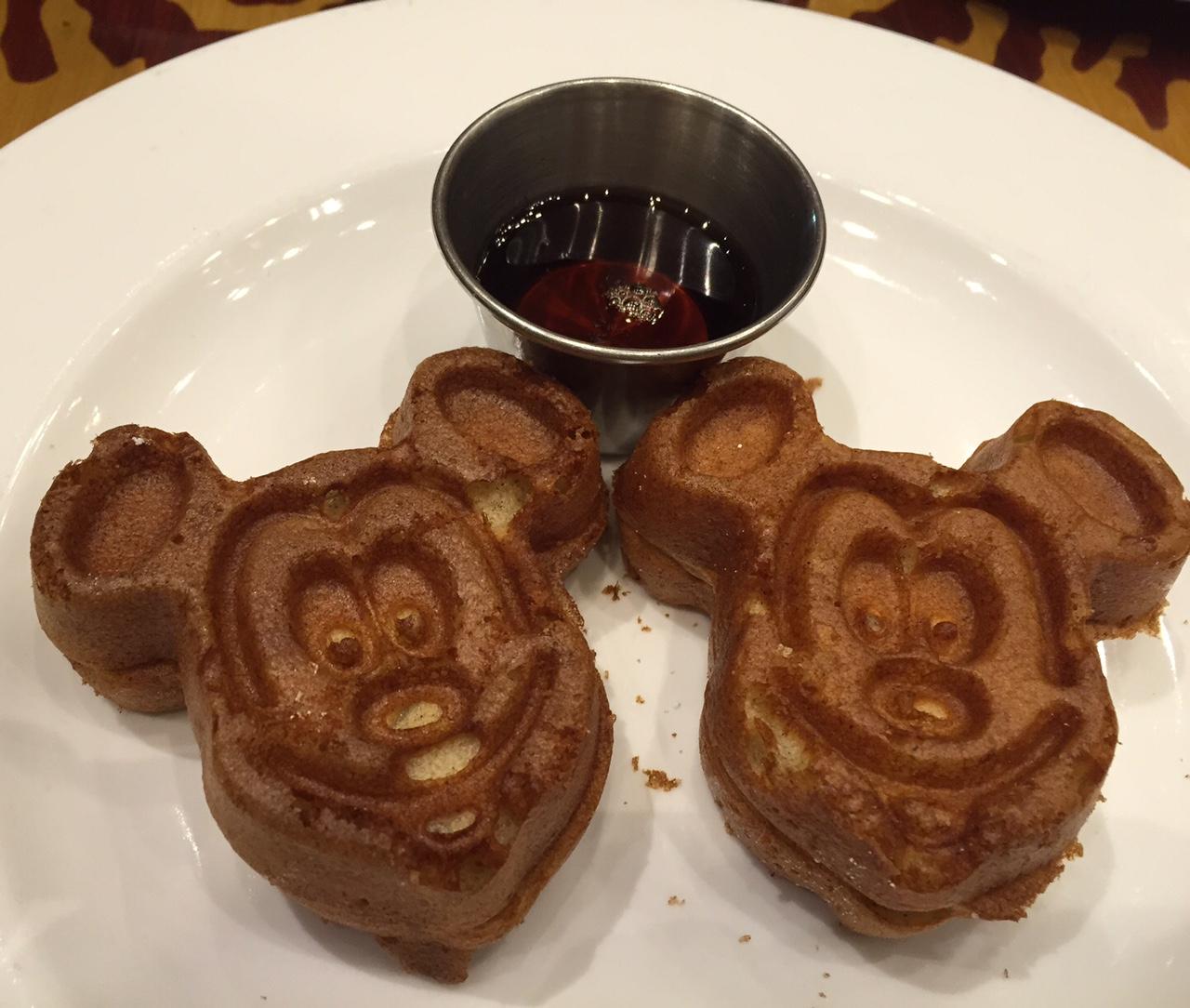 Mickey wafflewhole